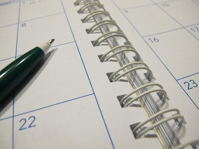 研修の日程