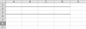 Excelで罫線を引く01