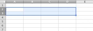 Excelで罫線を引く